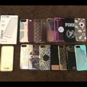 iPhone 7plus/8plus cases.
